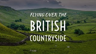Flying over the British Countryside   Cinematic DJI Drone Film