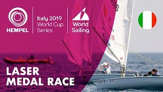 Laser Medal Race | Hempel World Cup Series Genoa 2019