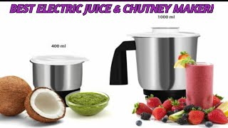 Flipkart SmartBuy PowerChef Pro 500 W Mixer Grinder (Black, White, 2 Jars) | Best Electric Juicer!
