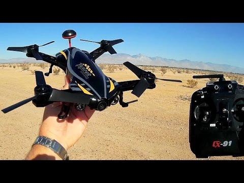 Cheerson CX-91 Jumper Upgrade FPV Racer Drone Flight Test Review - UC90A4JdsSoFm1Okfu0DHTuQ