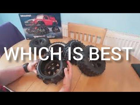 Traxxas X-maxx wheel and tyre options - UCLR4b77pYxte3t2B3Xw-T8g