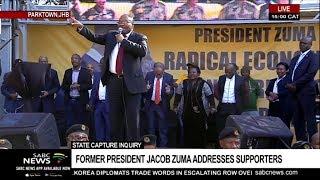 Zuma threatens name those behind a conspiracy against him