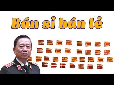 Vụ Vũ Nhôm: Phát hiện BT Tô Lâm bán quân hàm tướng công an kiếm cả chục triệu đô