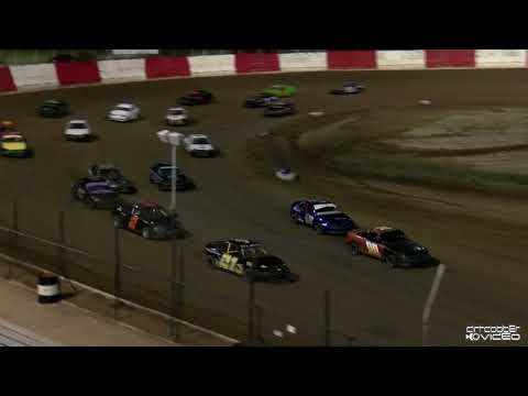 Gladiators Feature-East Bay Raceway Park 8/7/21 - dirt track racing video image