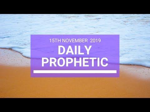 Daily Prophetic 15 November Word 3