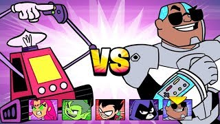 Teen Titans Go! - Jump Jousts - Cold Steel [Cartoon Network Games]