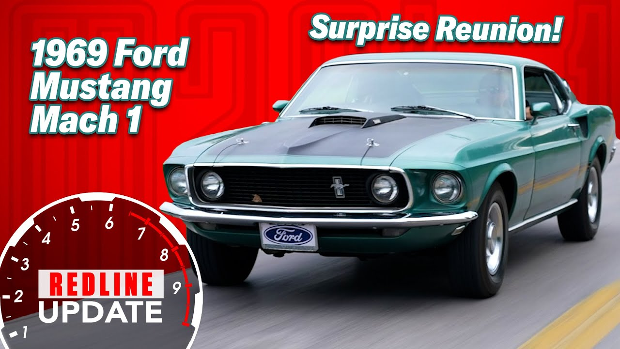 First drive in 30 years: owner reunited with '69 Ford Mustang Mach 1