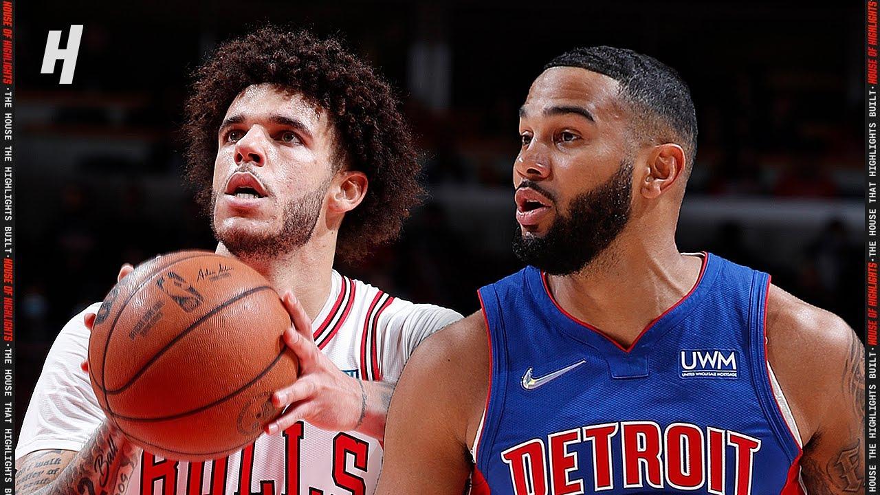 Detroit Pistons vs Chicago Bulls – Full Game Highlights   October 23, 2021   2021-22 NBA Season