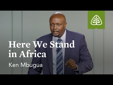 Ken Mbugua: Here We Stand in Africa