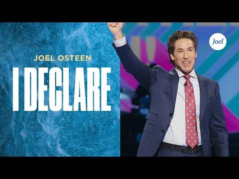 I Declare  Joel Osteen