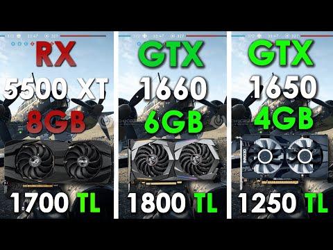 RX 5500 XT 8GB vs GTX 1660 Siz Hangisini Önerirsiniz.