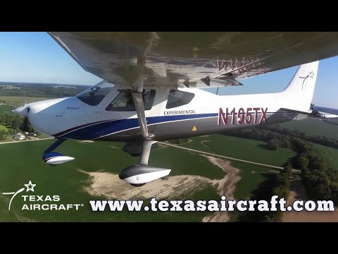 Texas Colt 100, Texas Aircraft Colt, Texas Aircraft Colt 100 Aircraft Review, Midwest LSA Expo.