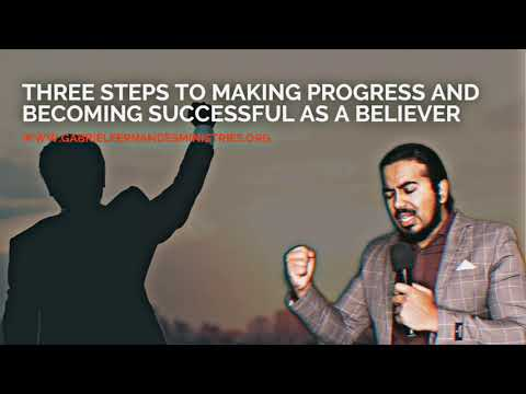 3 IMPORTANT STEPS TO MAKING PROGRESS & BECOMING SUCCESSFUL, POWERFUL MESSAGE & PRAYER