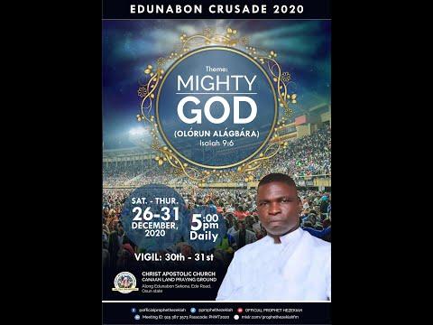 EDUNABON CRUSADE 2020