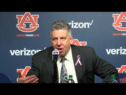 Auburn's basketball head coach Bruce Pearl's postgame press conference against Vanderbilt on 2/3/18 at the Auburn Arena.