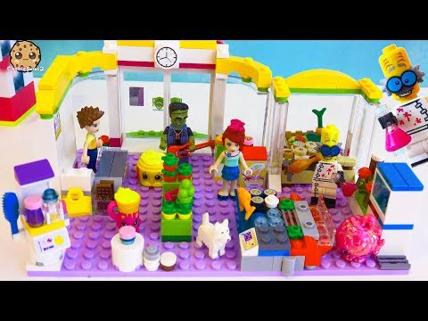 Monsters At The Lego Friends Super Market Store - Surprise Halloween Blind Bags - Toy Video - UCelMeixAOTs2OQAAi9wU8-g