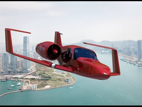 Top 5 Real Flying Cars That Actually Fly | Futuristic Flying Car - default