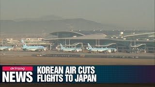 Korean Air to cut flights to Japan while providing more flights to China and South East Asia