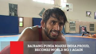 Bajrang Punia Makes India Proud, Becomes World No.1 Again