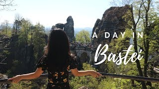 BASTEI - A DAY IN SAXON SWITZERLAND | LIFE IN GERMANY