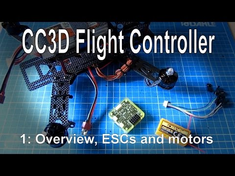 (1/10) CC3D Flight Controller for Beginners - Overview, frame build and power setup - UCp1vASX-fg959vRc1xowqpw