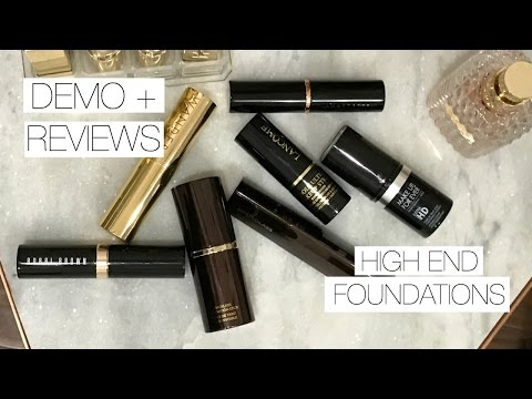 HIGH END FOUNDATION STICKS | Hits & Misses- Demo + Mini Reviews - UC8v4vz_n2rys6Yxpj8LuOBA