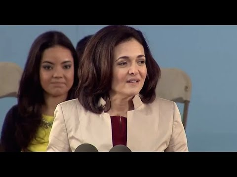 Facebook COO Sheryl Sandberg Commencement Speech | Harvard Commencement 2014 - UCLv7Gzc3VTO6ggFlXY0sOyw
