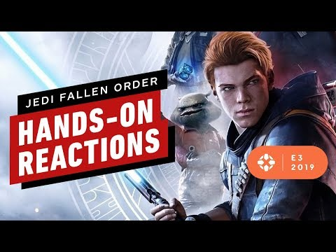 Star Wars Jedi Fallen Order Hands-On Impressions - E3 2019 - UCKy1dAqELo0zrOtPkf0eTMw