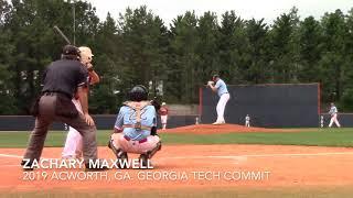 Zachary Maxwell RHP 2019 Acworth, Ga. (GT commit/NYY 30th Round Pick)