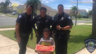 Pizza Emergency! Boy Phones 911 To Order Pizza; Police End Up Delivering!