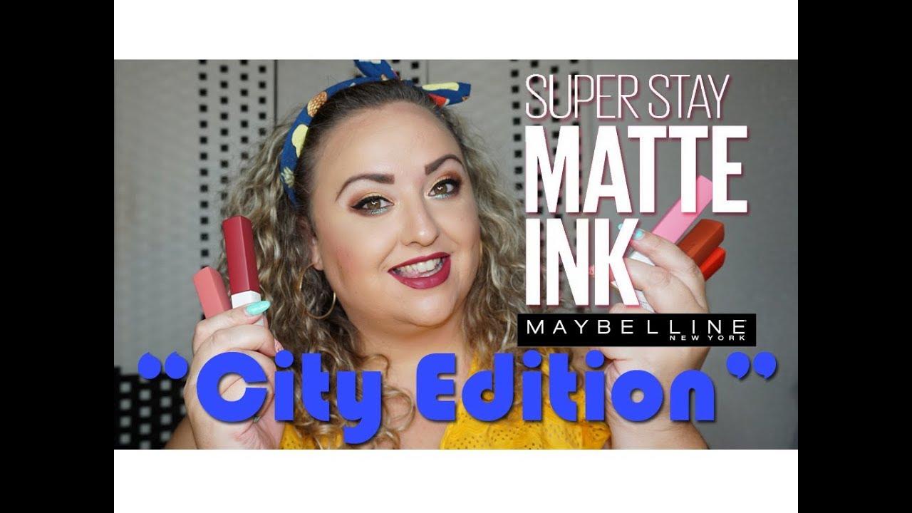 Nuevos Superstay Matte Ink City Edition Maybelline Audiomanialt