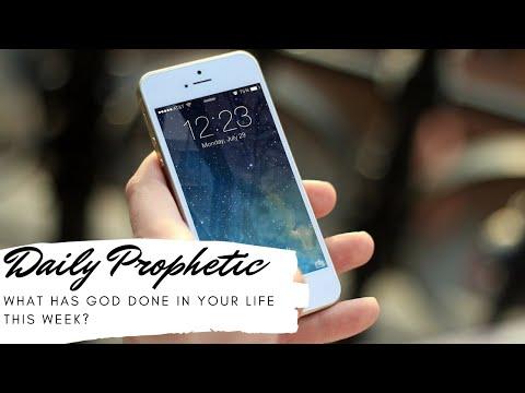 Daily Prophetic 3 June 2020 testimonies