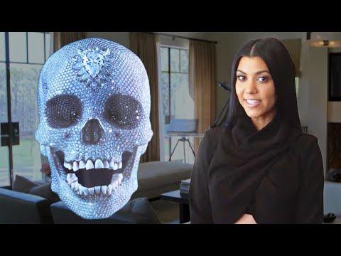 Architectural Digest 'Inside Kourtney Kardashian's Home' Cover Shoot