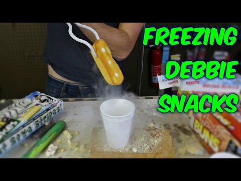 Freezing Little Debbie Snacks with Liquid Nitrogen - UCe_vXdMrHHseZ_esYUskSBw