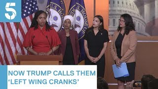 Donald Trump in 'racist' tweet row with Democratic congresswomen | 5 News
