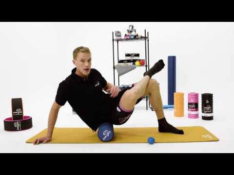 Foam rolling your glutes