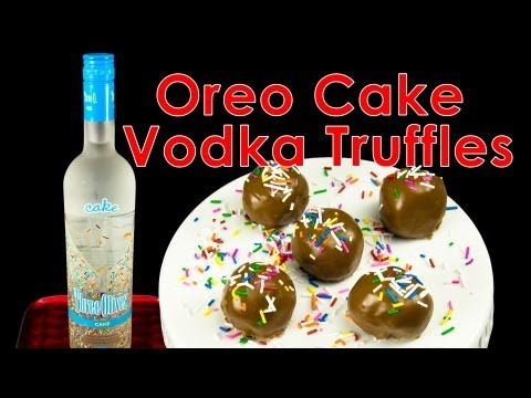 Oreo Cake Vodka Truffles from  Cookies Cupcakes and Cardio - UCg-YSRB6TsIq-c5PUZ0F1Jg