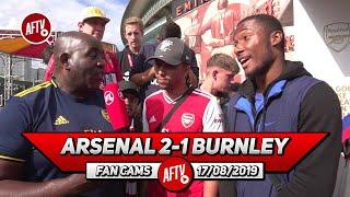 Arsenal 2-1 Burnley    Aubameyang Can Win The Golden Boot Again! (Curtis & Broadz - AFTV FC)