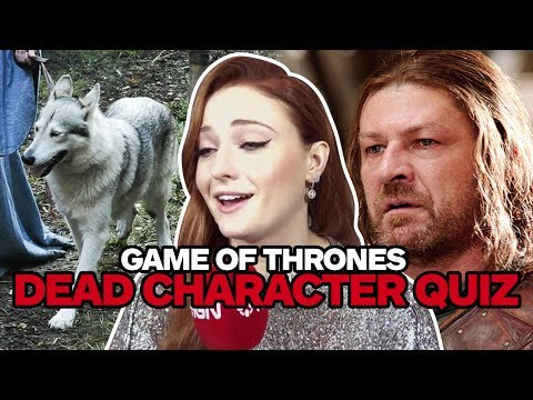 Game of Thrones Cast Take Ultimate Dead Characters Quiz - UCKy1dAqELo0zrOtPkf0eTMw