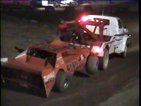 Hidden Valley Speedway August 14th, 1993 Late Model Feature - dirt track racing video image