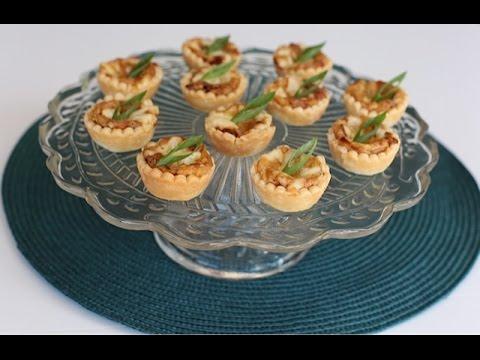 Mini Caramelized Onion Tarts
