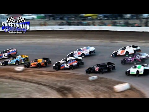 Sweetwater Speedway IMCA Modified B-Main 7/3/21 - dirt track racing video image