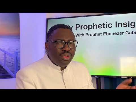 Prophetic Insight Jun 9th, 2021
