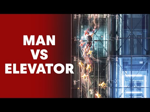 Speed Climber Races Against an Elevator And... - UCblfuW_4rakIf2h6aqANefA