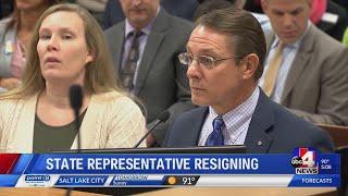 Utah Rep. Ken Ivory stepping down; new job cited as reason
