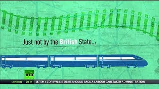 Most UK rail operators are now state-owned...by other countries!