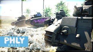 𝓣𝓤 𝓔𝓢𝓣 𝓓É𝓙À 𝓜𝓞𝓡𝓣 | French B1 Landship INVASION (War Thunder)