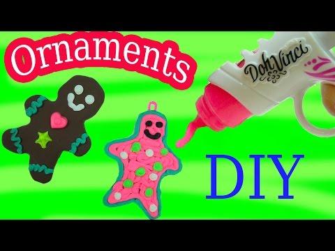Playdoh DohVinci DIY Gingerbread Man Cookies Christmas Holiday Ornaments Maker Toy Play Doh Vinci - UCelMeixAOTs2OQAAi9wU8-g