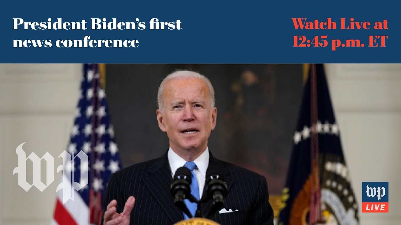 Biden's first news conference at the White House – 3/25 (FULL LIVE STREAM)