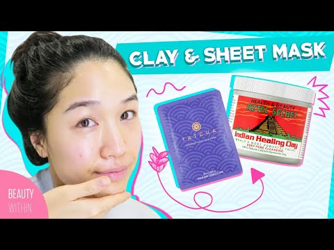 6 Types of Face Masks to Clear & Hydrate Your Skin: Sheet Mask, Sleeping Mask, Clay Mask